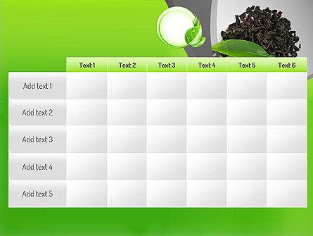 Tea Leaves PowerPoint Template Slide 15