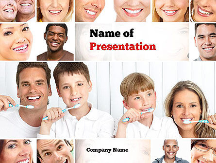 Preventative Dentistry PowerPoint Template, 11067, Medical — PoweredTemplate.com