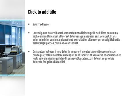 Clean Office PowerPoint Template, Slide 3, 11069, Careers/Industry — PoweredTemplate.com
