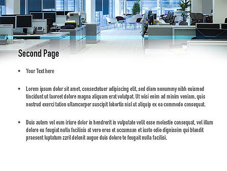 Clean Office PowerPoint Template, Slide 2, 11069, Careers/Industry — PoweredTemplate.com