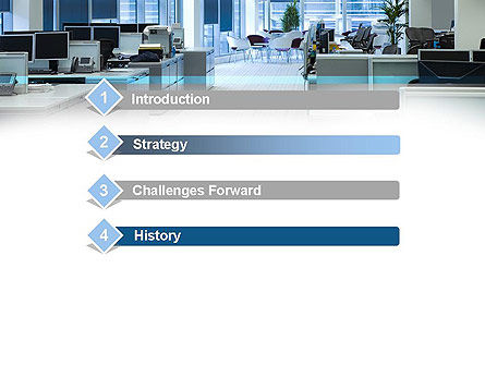 Clean Office PowerPoint Template, Slide 3, 11069, Careers/Industry — PoweredTemplate.com