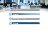Clean Office PowerPoint Template#3