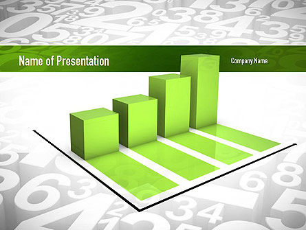 Careers/Industry: Statistics PowerPoint Template #11071