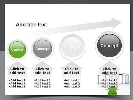 Choosing The Right Way PowerPoint Template Slide 13