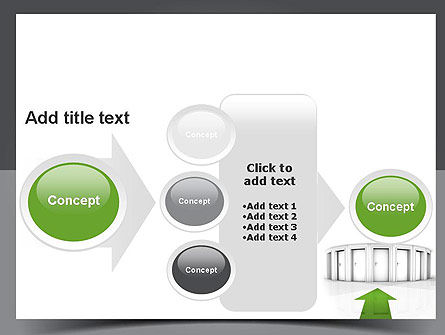 Choosing The Right Way PowerPoint Template Slide 17