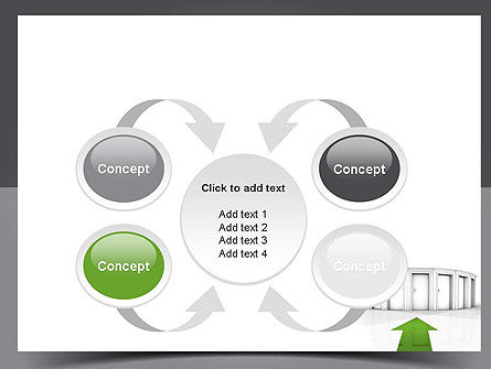 Choosing The Right Way PowerPoint Template Slide 6