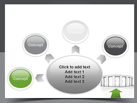 Choosing The Right Way PowerPoint Template Slide 7