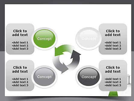 Choosing The Right Way PowerPoint Template Slide 9