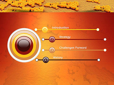 Staphylococcus Infection PowerPoint Template, Slide 3, 11075, Medical — PoweredTemplate.com