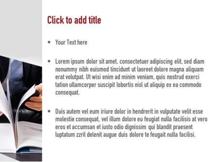 Business Report PowerPoint Template, Slide 3, 11080, Business — PoweredTemplate.com