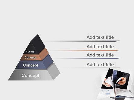 Business Report PowerPoint Template, Slide 4, 11080, Business — PoweredTemplate.com