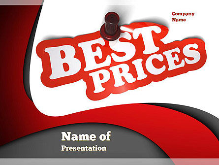 Best Prices PowerPoint Template