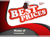 Careers/Industry: Best Prices PowerPoint Template #11081