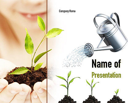 Education & Training: Green Education PowerPoint Template #11082