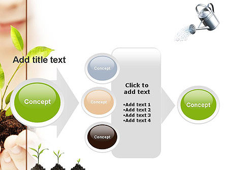 Green Education PowerPoint Template Slide 17