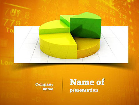 Colorful 3D Pie Chart PowerPoint Template, 11083, Business Concepts — PoweredTemplate.com
