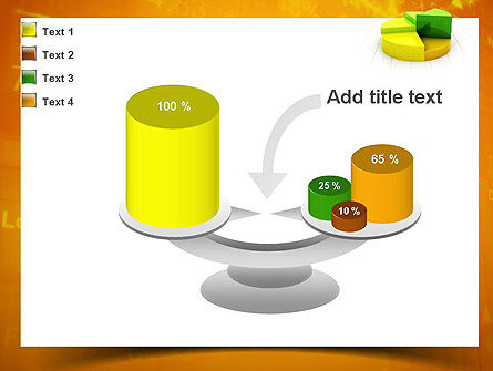 Colorful 3D Pie Chart PowerPoint Template Slide 10