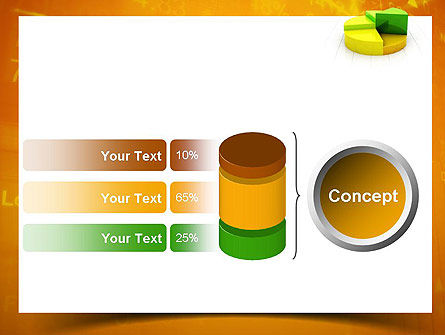 Colorful 3D Pie Chart PowerPoint Template Slide 11