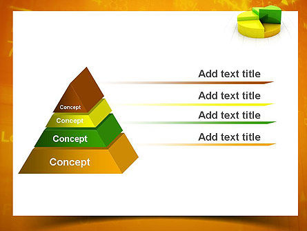 Colorful 3D Pie Chart PowerPoint Template Slide 12