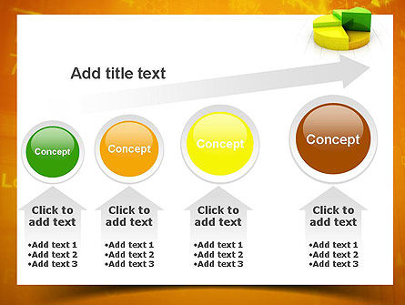 Colorful 3D Pie Chart PowerPoint Template Slide 13