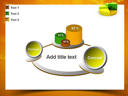 Colorful 3D Pie Chart PowerPoint Template Slide 16