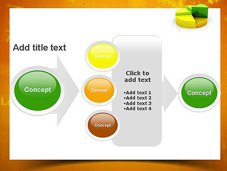 Colorful 3D Pie Chart PowerPoint Template Slide 17