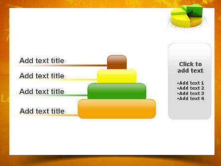 Colorful 3D Pie Chart PowerPoint Template Slide 8