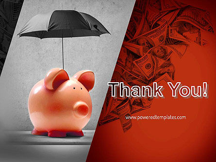 Savings Under Umbrella PowerPoint Template Slide 20
