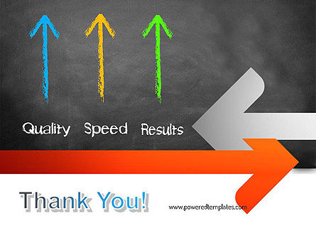 Quality Speed Results PowerPoint Template Slide 20