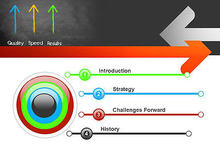 Quality Speed Results PowerPoint Template, Slide 3, 11087, Business Concepts — PoweredTemplate.com