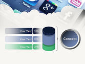 Social Media Applications PowerPoint Template#11