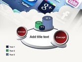 Social Media Applications PowerPoint Template#16
