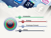 Social Media Applications PowerPoint Template#3