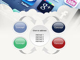 Social Media Applications PowerPoint Template#6