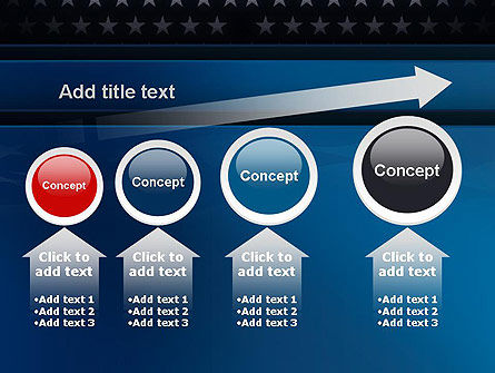 America Stand Strong PowerPoint Template Slide 13