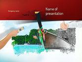 Art & Entertainment: Beeldende Kunst PowerPoint Template #11091
