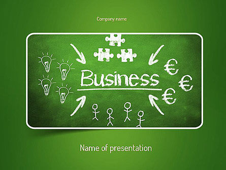 Business Concepts: Business Development Concept PowerPoint Template #11092