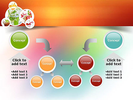 Refreshing Drinks PowerPoint Template Slide 19