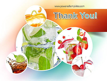 Refreshing Drinks PowerPoint Template Slide 20