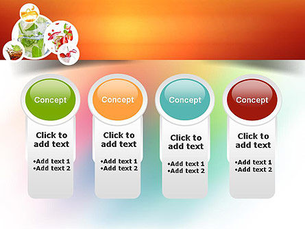 Refreshing Drinks PowerPoint Template Slide 5