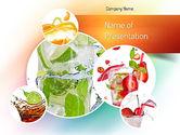Food & Beverage: Refreshing Drinks PowerPoint Template #11094