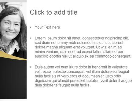 Happy Employees PowerPoint Template, Slide 3, 11095, People — PoweredTemplate.com