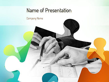 Chartered Accountant PowerPoint Template, 11096, Financial/Accounting — PoweredTemplate.com