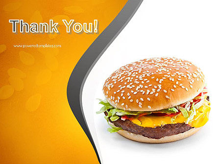 Tasty Burger PowerPoint Template Slide 20