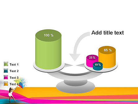 Riot of Color PowerPoint Template Slide 10