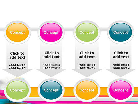 Riot of Color PowerPoint Template Slide 18
