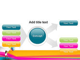 Riot of Color PowerPoint Template#14