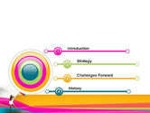 Riot of Color PowerPoint Template#3