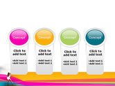 Riot of Color PowerPoint Template#5