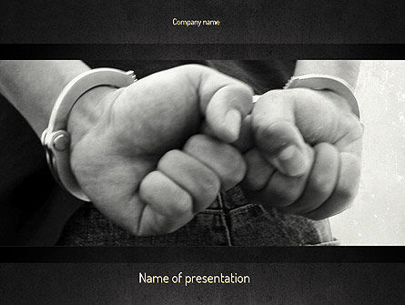 Legal: Suspected PowerPoint Template #11102